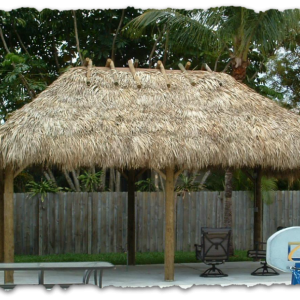 Natural Thatch Roof Materials
