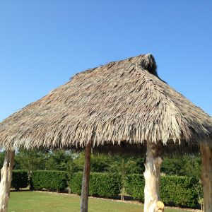 Synthetic Thatch Roof Materials